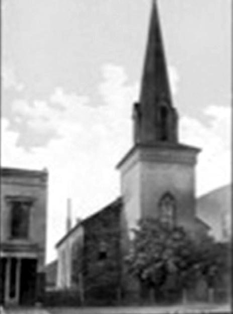 who also designed notable local landmarks Old Centre and the McClure-Barbee House. The church was consecrated on June 3, 1831 by Reverend William Meade, Assistant Bishop of Virginia.