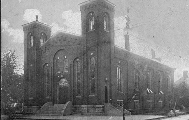 This church also fell to fire in 1965. First Christian Church ultimately relocated outside of downtown Danville at 555 East Lexington Avenue.