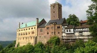We will tour the Wartburg and see where Luther finished translating the New Testament into German in just eleven weeks. After the tour we will visit the Bach House in Eisenach.