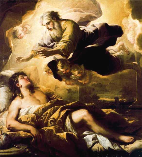 Who appeared to Solomon in a dream?