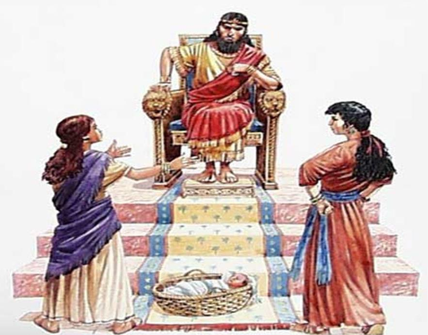 The Israelites came to King Solomon when they needed help.