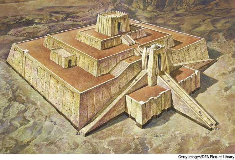 Mesopotamian Ziggurat (Temple) Religion- WHERE?
