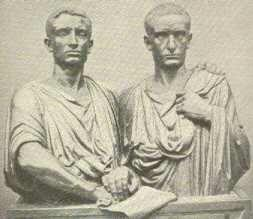 Two Brothers Tiberius and Gracchus tried to help Rome s poor by proposing to: Give land to the poor