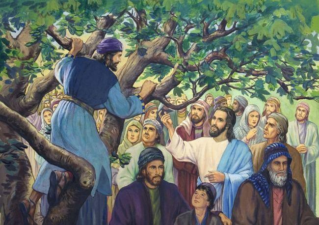 jesus gives zacchaeus a new life Luke 19:1-10 Zacchaeus was one of the richest Jewish men in Jericho. That's becuase he was the most powerful tax collector in that town.