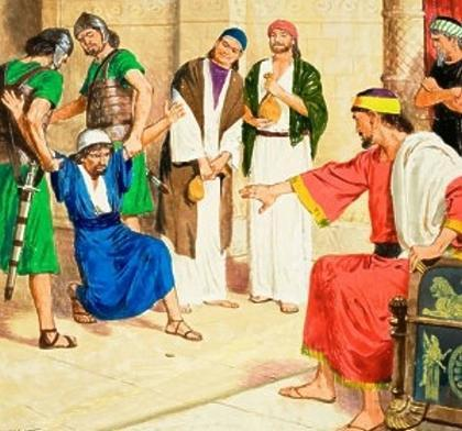 a story about using money wisely Luke 19:11-26 Some people thought God's Kingdom would come soon. Jesus wanted them to see that this was not true. So He told this story to help them.