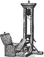 Guillotine - Head chopping machine created by a