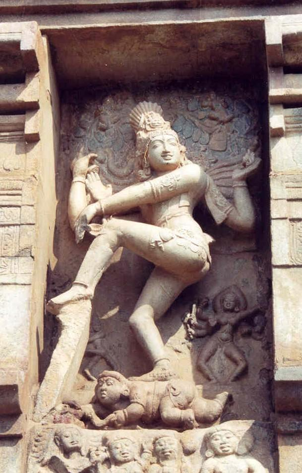 Nataraja the Lord of Dance u Shiva creates the cosmos out of his dance.