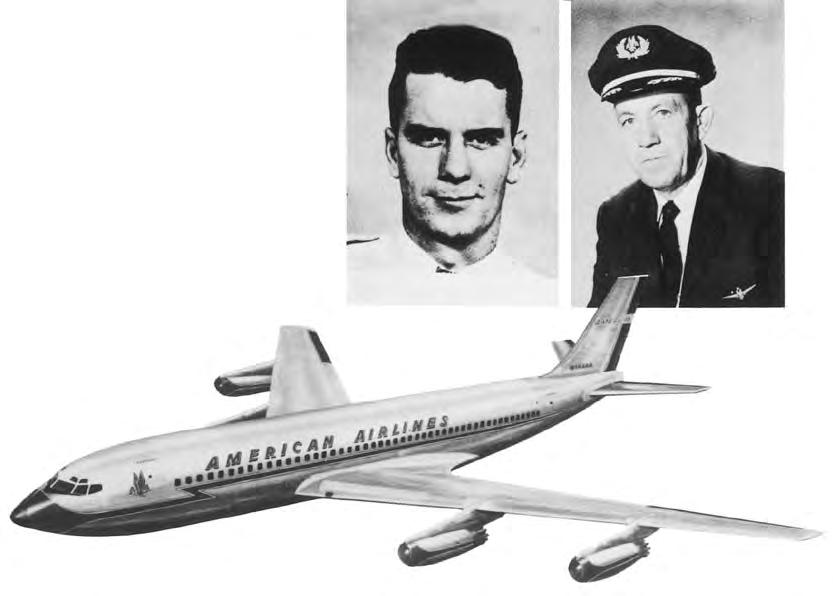 The personal animosity between American Airlines MEC Chairman Gene Seal ( far right) and ALPA President Clancy Sayen bore fruit in the American Airlines split of 1963.