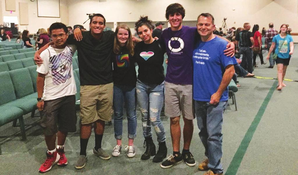 Members of St. Michael s Youth Group attended a Christian music concert in Durham recently.