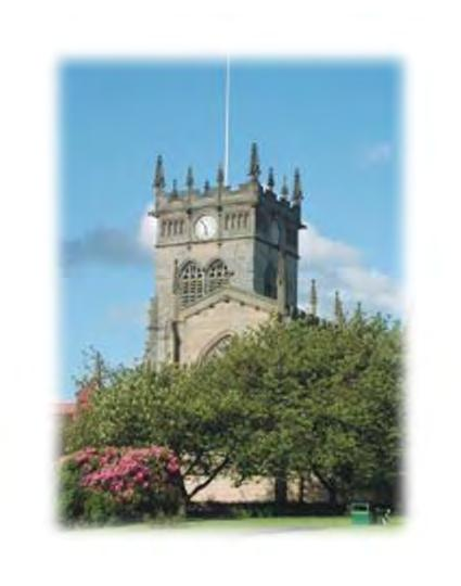 The Parishes of All Saints, Wigan and St George, Wigan All Saints Wigan All Saints Wigan (known colloquially as Wigan Parish Church) is the oldest church in Wigan being mentioned in the Domesday Book