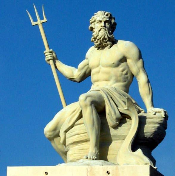 Poseidon POSEIDON was the great Olympian god of the sea, rivers, flood and drought, earthquakes,
