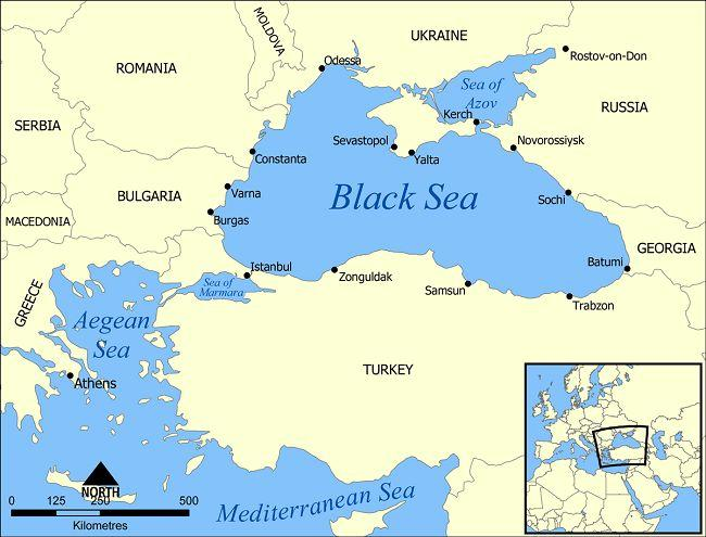 Trading The Holy Roman Empire s main route was the Black Sea.
