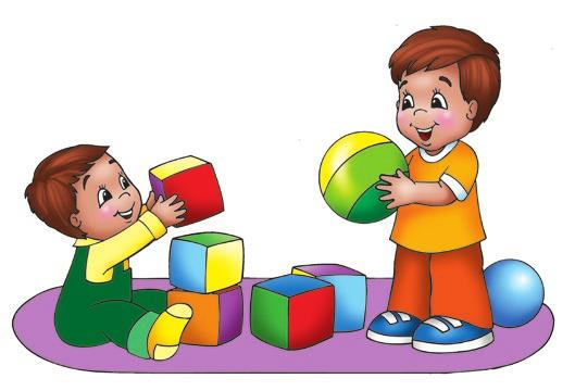 August 23, 2015 for families of Toddlers & 2s God Cares for Me When I m Playing Psalm 121:5-8; 1 Peter 5:7 It s fun to play! These two boys are playing with blocks and balls.