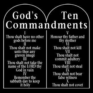 THE TEN COMMANDMENTS EXODUS 20:1-21 God reminded the Israelite people that He was God. He was the one who had freed them from slavery in Egypt.