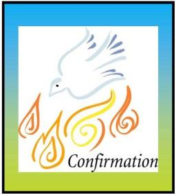 Schedules are also available on line under, Faith Formation, Program Information.