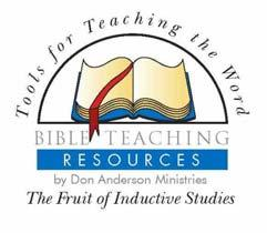 Bible Teaching Resources by Don Anderson Ministries PO Box 6611 Tyler, TX 75711-6611 903.939.1201 Phone 903.939.1204 Fax 1.877.326.7729 Toll Free www.bibleteachingresources.org www.oneplace.