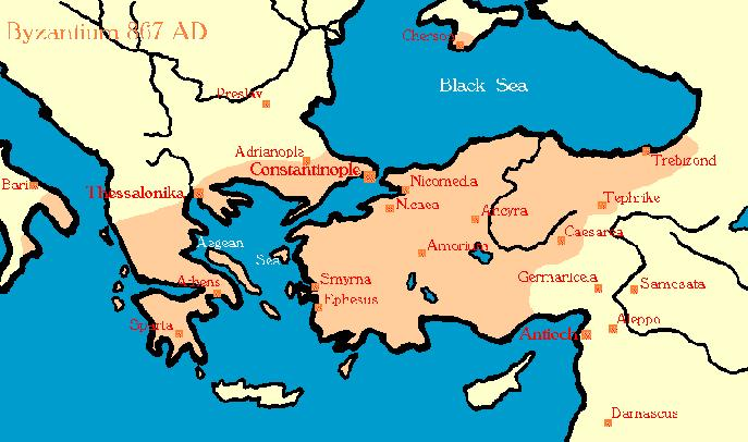 The Eastern Empire As Western Europe succumbed to the Germanic invasions,