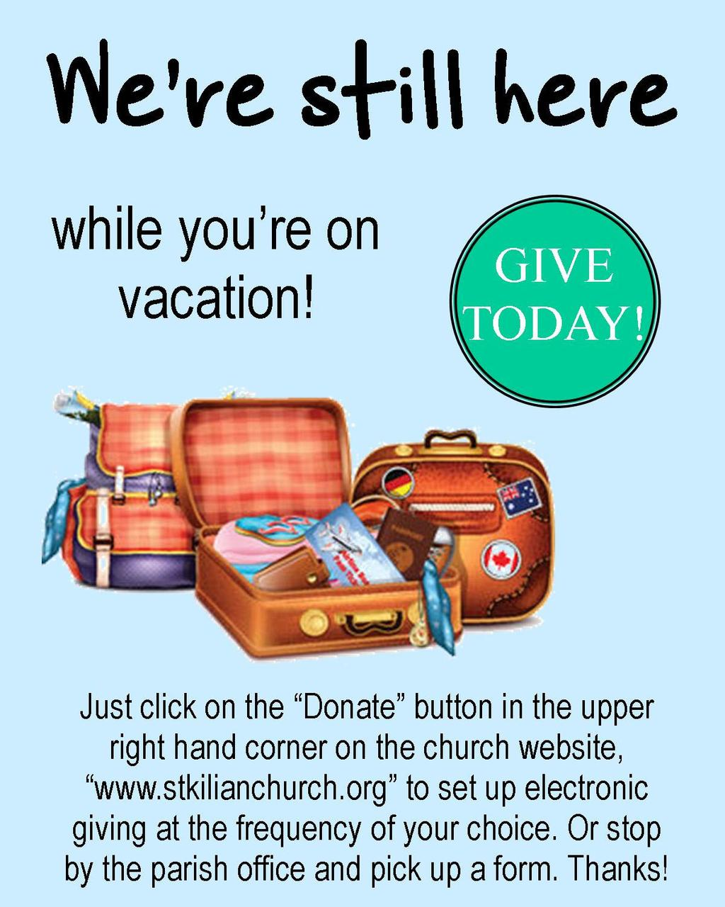 Page 2 Seventeenth Sunday in Ordinary Time SUMMER MISSION APPEAL 2017 Fr. Lucas Thumma, From India, will make a Mission Appeal here at St.