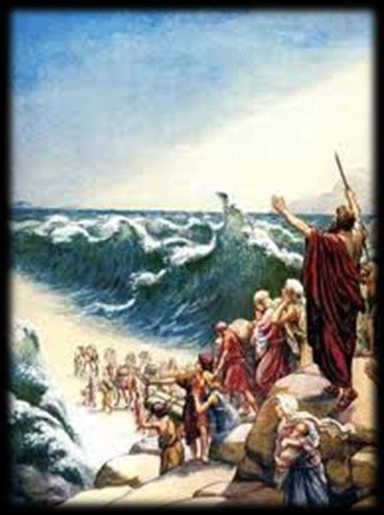 Liturgy of the Word Third Reading (Pages 172,174) Exodus 14:15 15:1 Israelites crossing