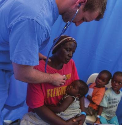 WHERE WE GO Medical Outreaches Several times a year, Jewish Voice and teams of fantastic outreach partners offer desperately needed, free medical and dental care to poverty-stricken Jewish