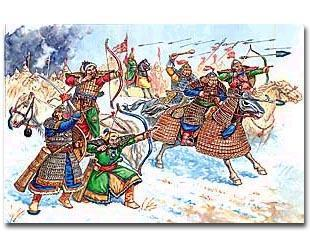 Golden Horde During the time of Genghis Khan the Mongols invaded Eastern Europe After time they attacked Russia,