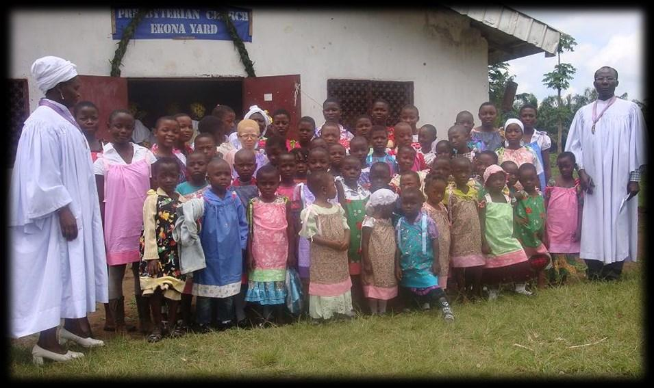 Epiphany Presbyterian Church Ekona Yard and the