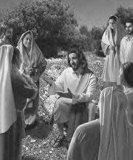 BIBLE STORY GROUP TIME JESUS TAUGHT THE PEOPLE Matthew 5:1-12 One day a crowd of people followed Jesus. Jesus saw the people. He climbed up the side of a mountain and sat down.
