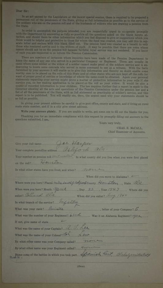 Isle of Wight Avengers 5 1907 Enumeration of