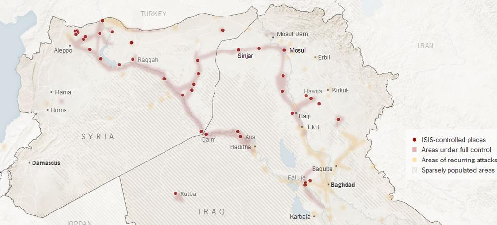 Source: http://www.nytimes.com/interactive/2014/06/12/world/middleeast/the-iraq-isis-conflict-in-maps-photos-and-video.html?_r=0 How many fighters does it possess?