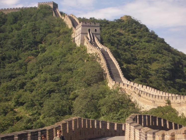 Great Wall of China Migratory invaders raided Chinese settlements from the North.