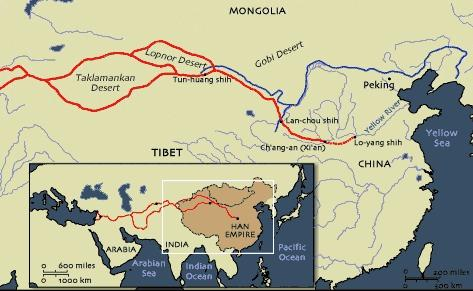 WHat was the Silk Road?