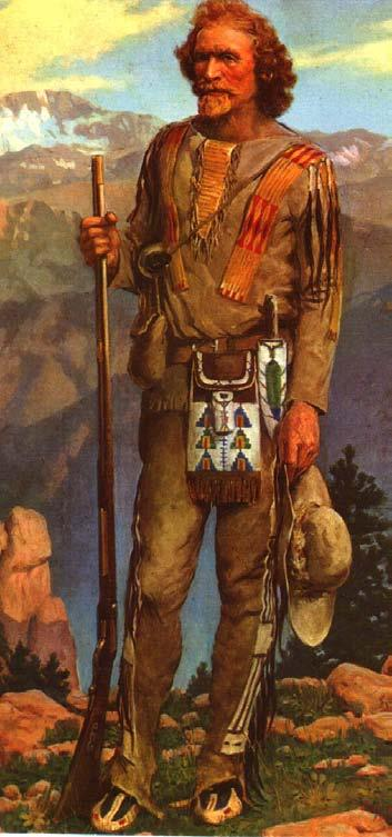 We will look at two images of frontier folks and see what the process was like. First, we ll look at the mountain man and the fur frontier, and try to sort out the myth and the reality.