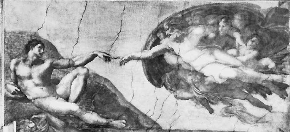The Covenants of God with Us F The Creation of Man, fresco on the ceiling of the Sistine Chapel in the Vatican, by Michelangelo Buonarroti, 1475-1564 I will make a covenant of peace with them; it