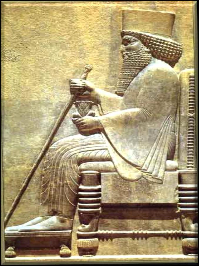 The Persians Darius I who ruled from 522 to 486 B.C. organized the Empire into provinces and assigned provincial governors, or Satraps to rule.