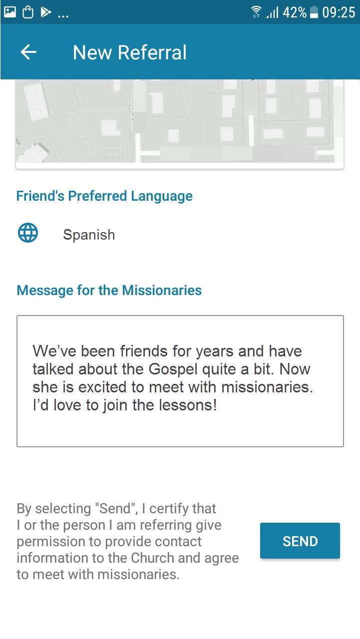 LDS Tools Experience English We ve been friends for years and have talked about the gospel quite a bit.