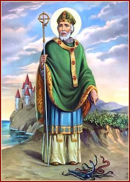 The Story of Saint Patrick Each year on March 17 th, millions of people around the world celebrate Saint Patrick's Day.