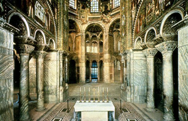 Church of San Vitale, Ravenna, Italy (Byzantine, 526-547 CE) https://classconnection.