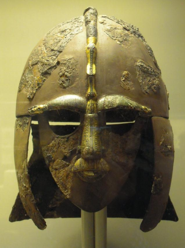 The Sutton Hoo Helmet The entrance hall to the British Museum Most interesting about this exhibition is the