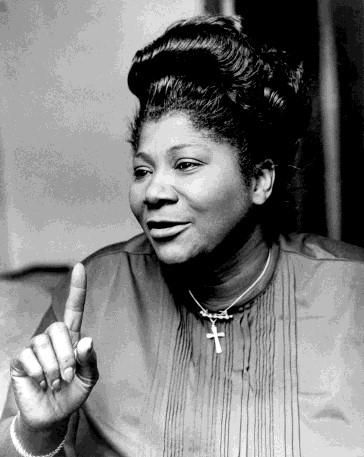 She was not only one of the most influential gospel singers in the world, she was a woman of deep faith and, like King, a civil rights activist.
