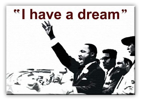 "It was Jackson who suggested the theme for the speech, impromptu, calling out, ""Tell them about the dream, Martin!"" Dr. King heard her and he did just that."