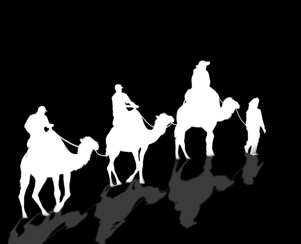 The wise men came to
