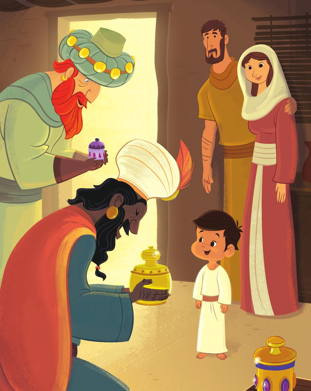 TM UNIT 4 Session 3 Wise Men Visited Jesus