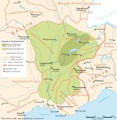 Slide 10 Late 400s to 530s Founded a kingdom in southern Gaul (modern France) in the Valley of the Rhone The Burgundians Slide 11 The Vandals Led by Genseric (lived circa 389 CE-477 CE) Crossed Gaul,