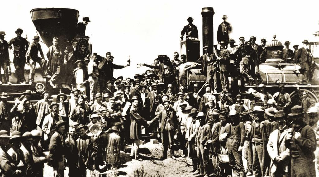 1 Railroads and Immigrants Key Ideas Railroads connected Idaho Territory to other places. Immigrants from many different countries helped build the railroads.