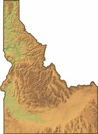 Ten years passed before northern and southern Idaho Territory were