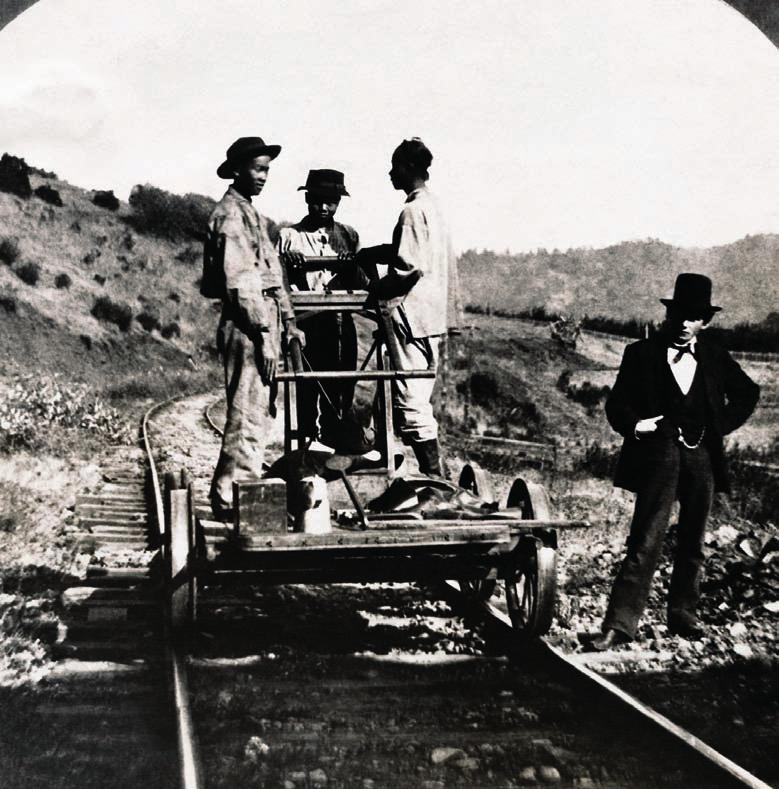 Immigrants Help Build Railroads Workers from all over the world built America s railroads.