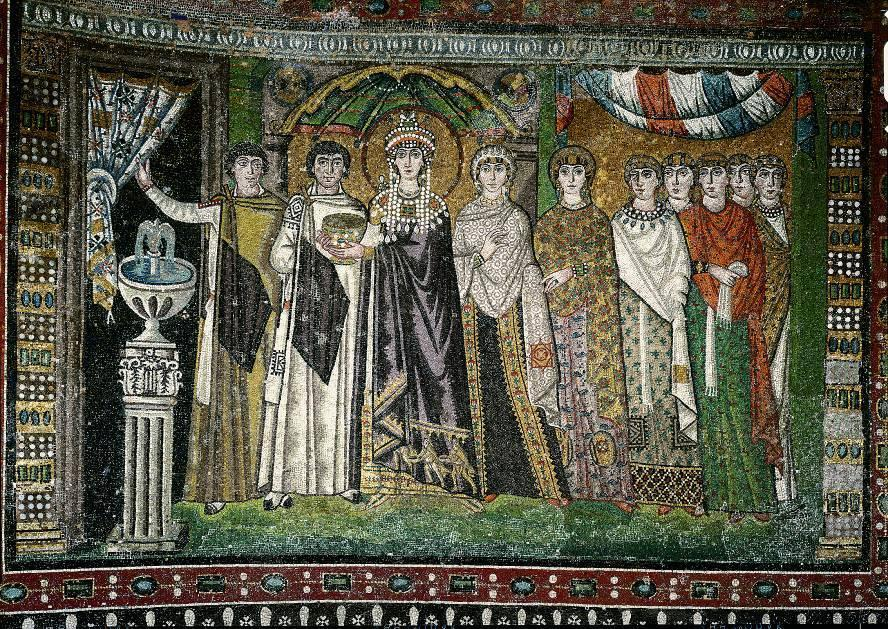 Empress Theodora and Her