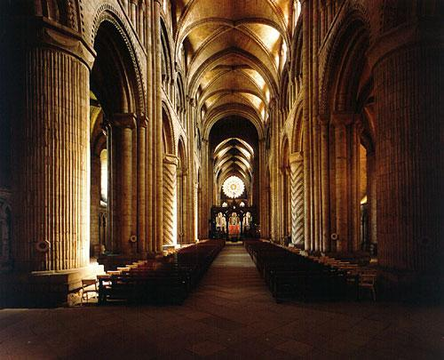 Romanesque Art Durham Cathedral, England, 1093 1. What events marked the beginning of the Romanesque Period? 2.