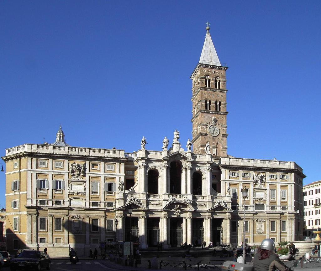 Early Christian Art Basilica of Santa Maria Maggiore,