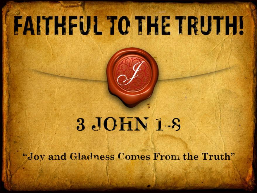 In all He said and did, Jesus was always faithful to the truth.